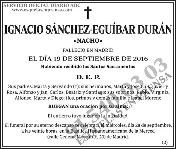 Ignacio Sánchez-Eguíbar Durán